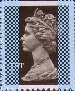 1989 GB - SG1450 (UWB1-p2) 1st (W) Black 2B IIPP from HB1 MNH